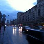 Rainy Moscow