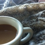 Coffee and fake fur: a known cure for jet lag…